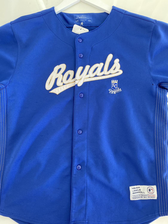 Royals #4 Gordon Baseball Jersey. SIZE: M