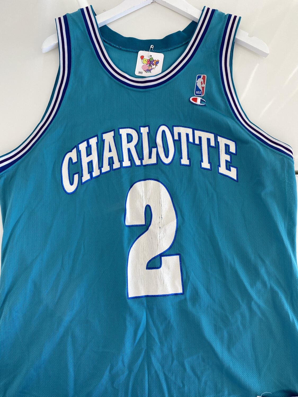 L. Johnson #2 Charlotte Jersey. SIZE: XL
