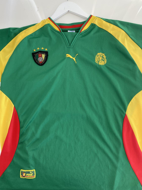 Cameroun Soccer Jersey. SIZE: XL