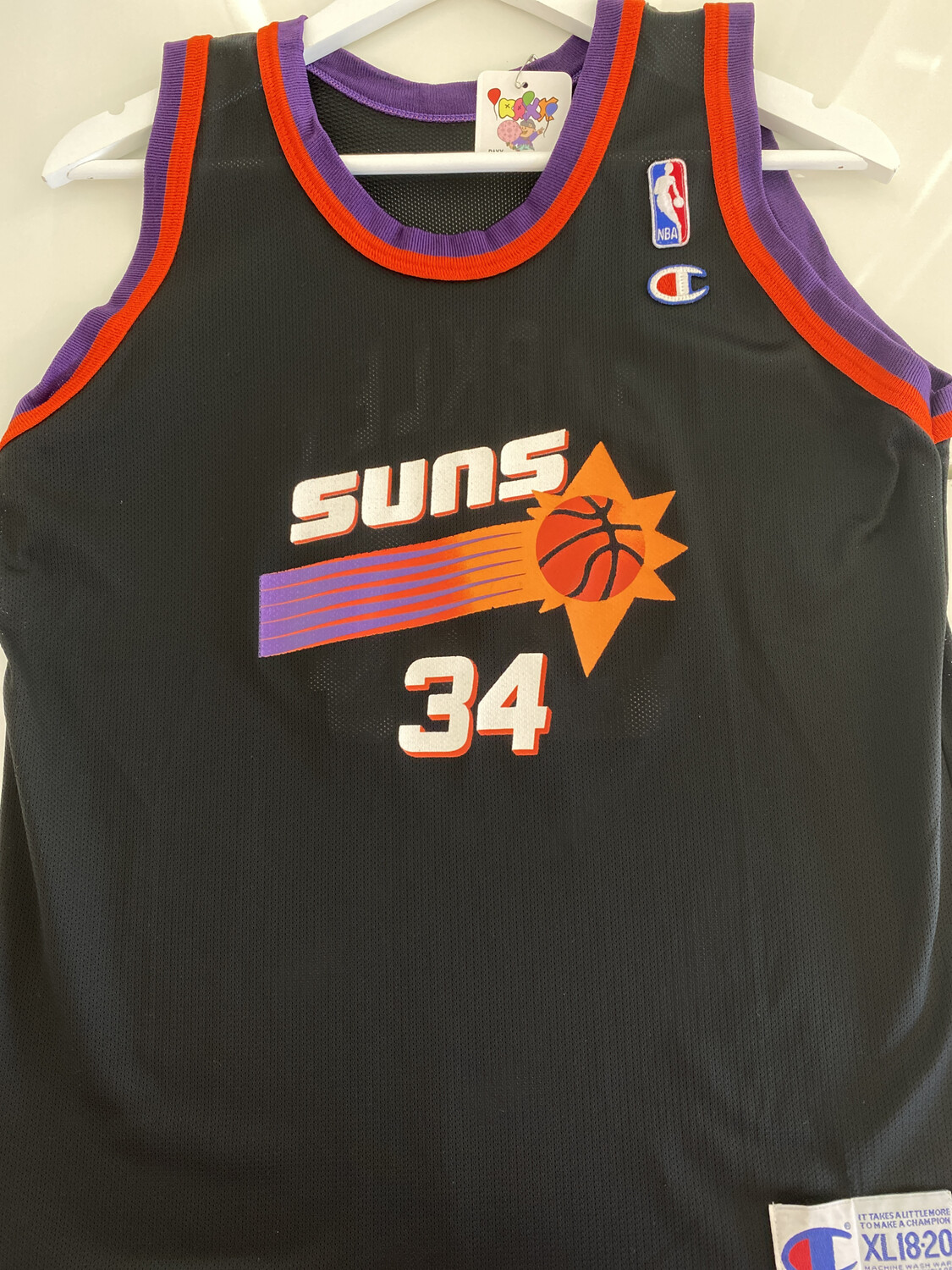 Barkley #34 Suns Jersey. SIZE: S