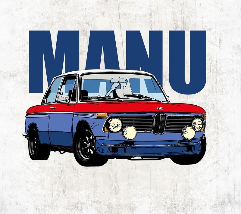 Geboortekaartje BMW 2002 Tii (9994)