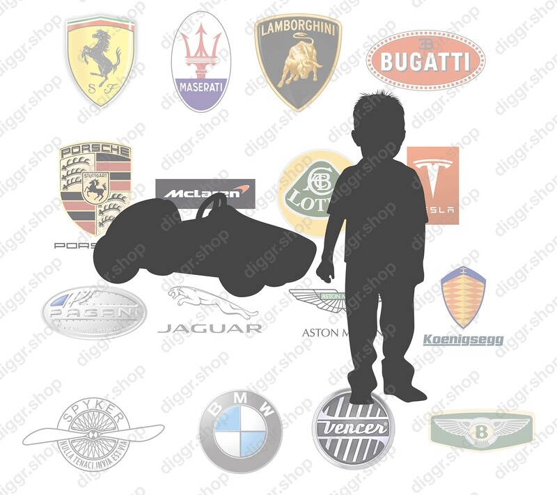 Geboortekaartje Super cars (263)