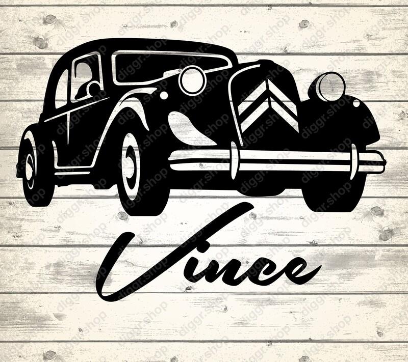Geboortekaartje Citroën Traction Avant (268)