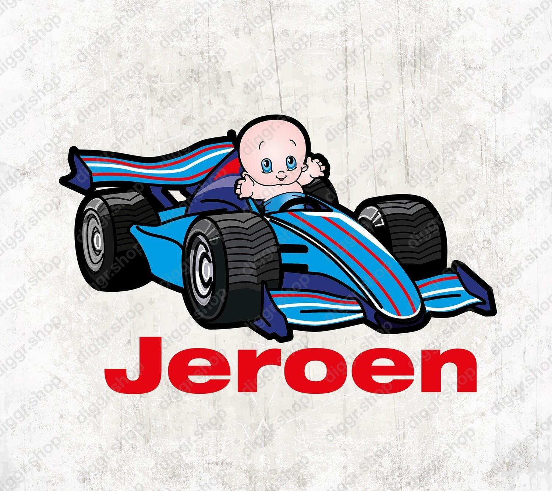 Geboortekaartje Formule 1 (1348)