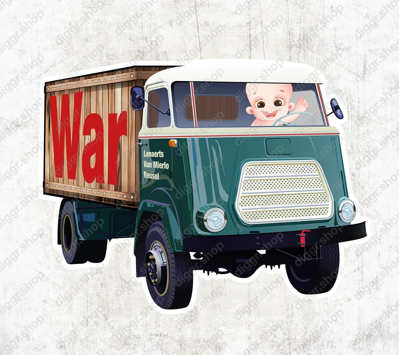 Geboortekaartje DAF vrachtwagen (2125)