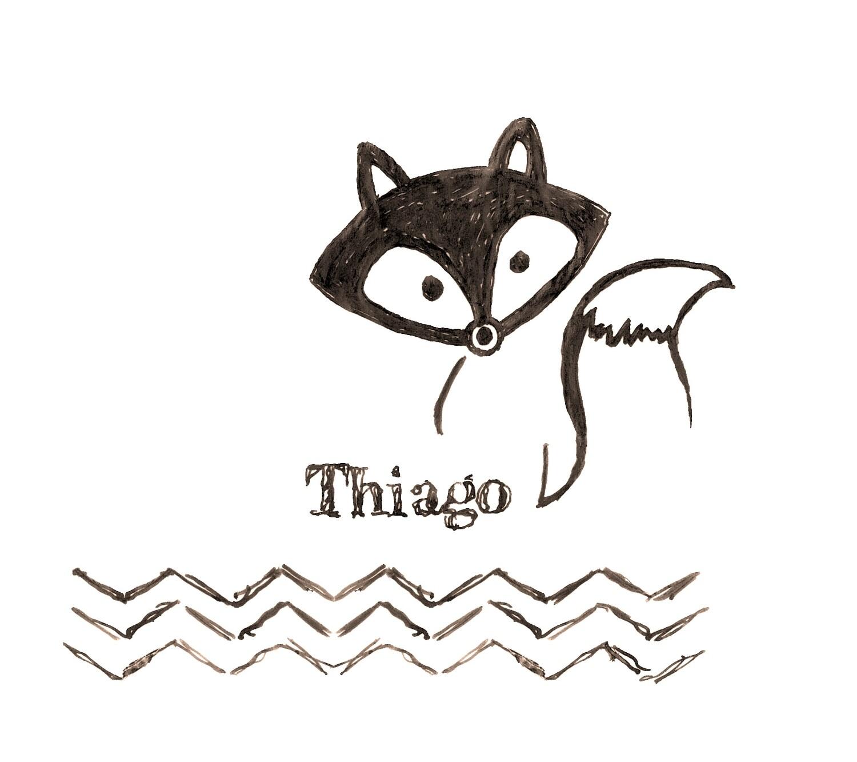 Geboortekaartje Thiago 4 (201903)