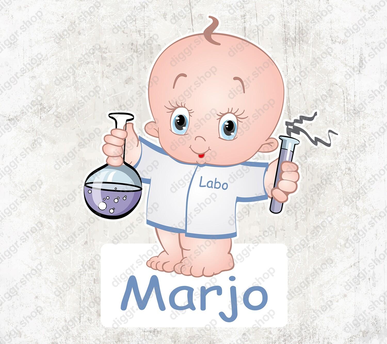 Geboortekaartje Laborante (1023)