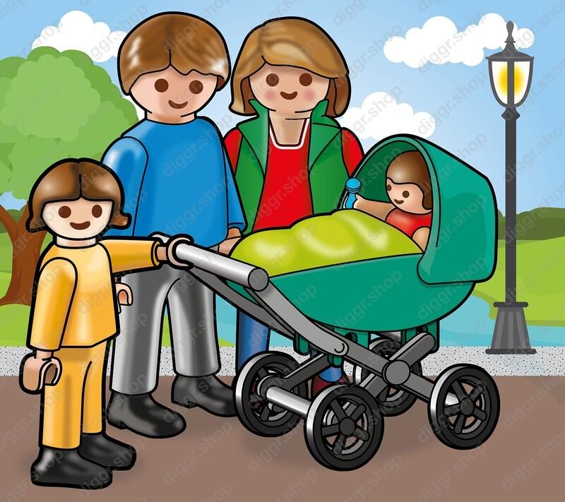 Geboortekaartje Playmobil Paulette 2 (719)