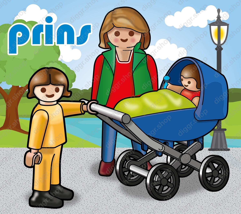 Geboortekaartje Playmobil Paulette 5 (722)