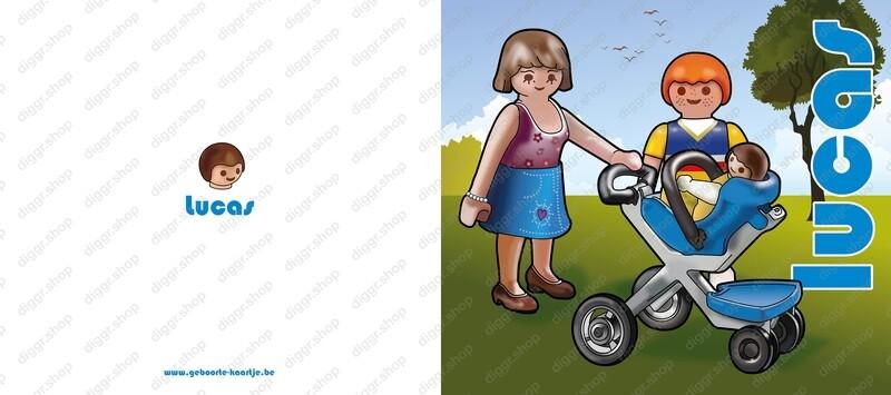 Geboortekaartje Playmobil 24 (744)