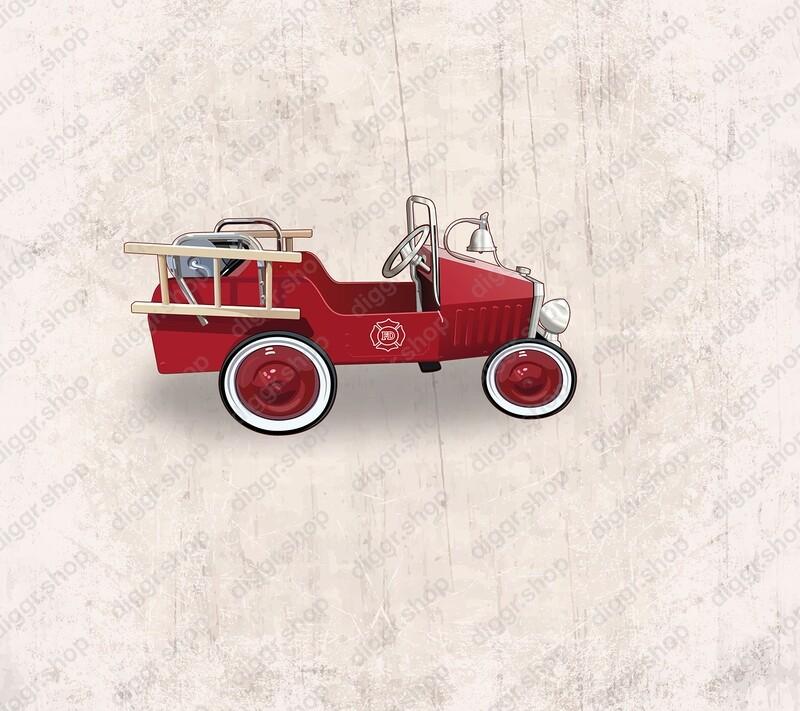 Geboortekaartje Brandweerwagen (19069)