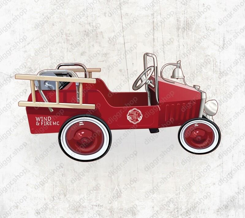 Geboortekaartje Brandweerwagen 102 (19067)