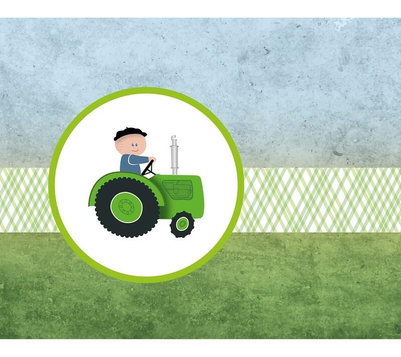 Geboortekaartje Tractortje (822)