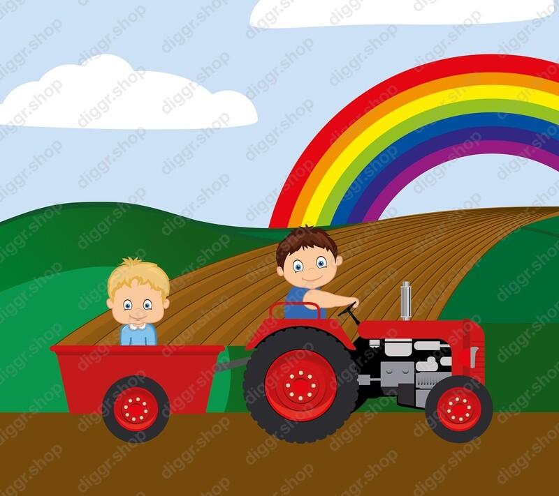 Geboortekaartje Tractor 13 (824)