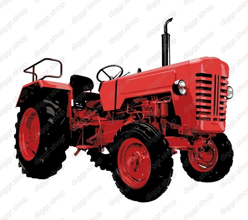 Geboortekaartje Tractor 12 (823)