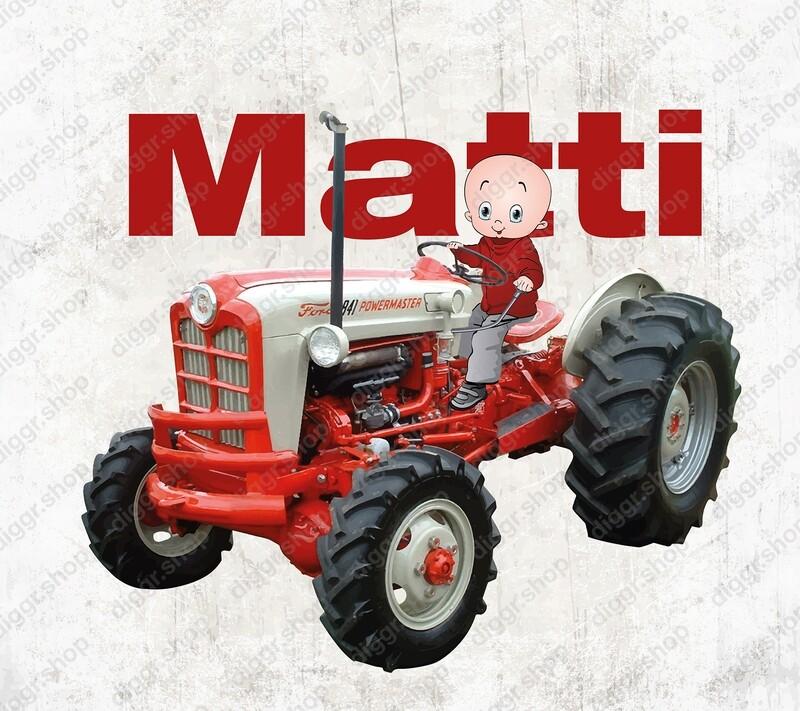 Geboortekaartje Ford tractor 2 (2004)