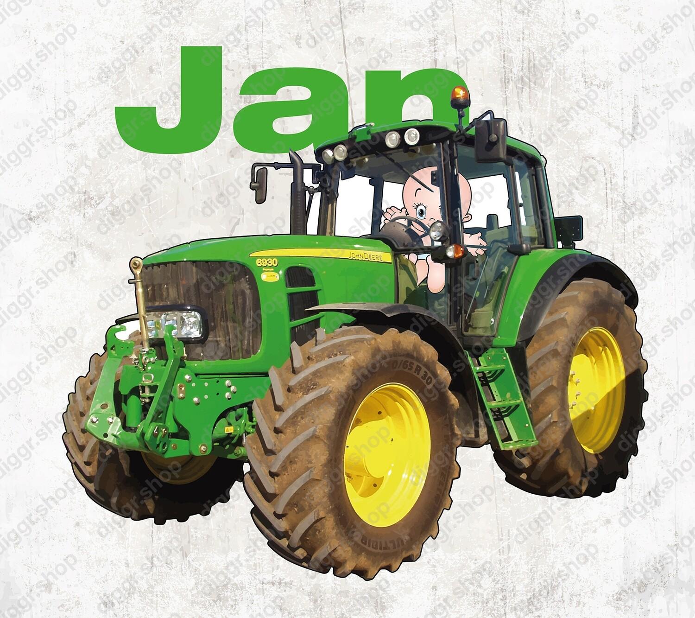 Geboortekaartje John Deere 6930 (2009)