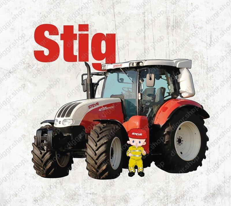 Geboortekaartje Steyr 4135 (2006)