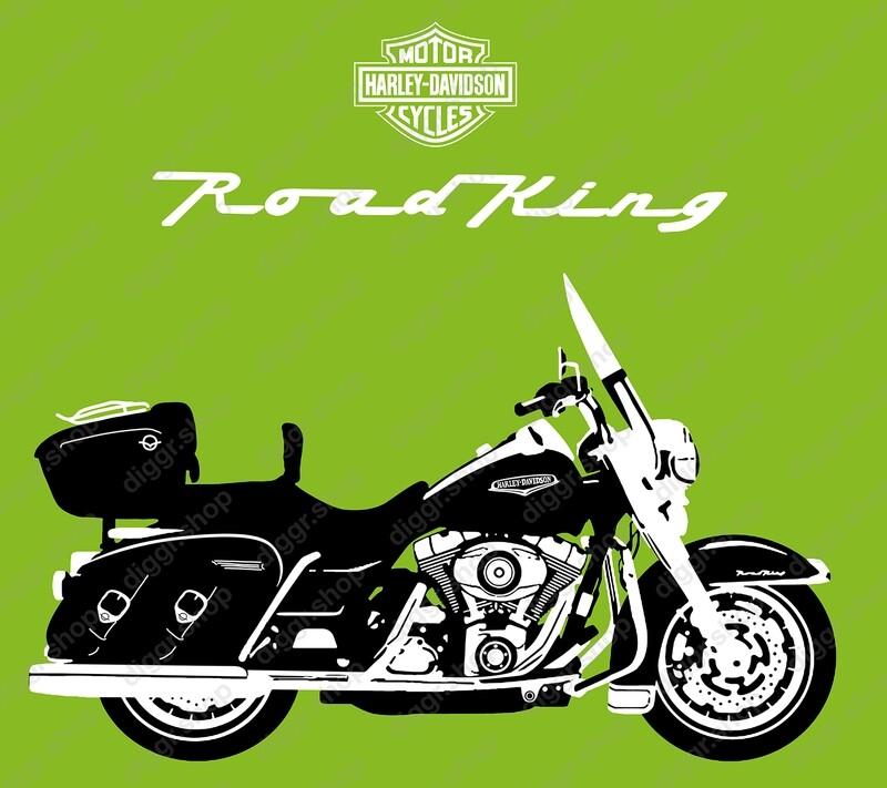 Geboortekaartje Road King (2118)