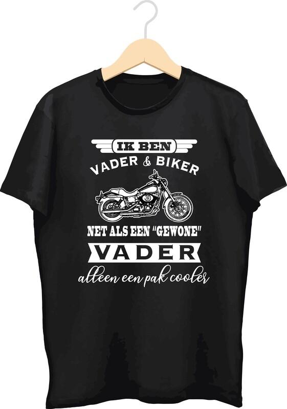 T-shirt met bedrukking (Biker)