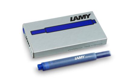 Lamy inktpatronen doos van 5 blauw T10