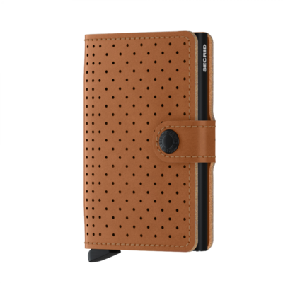 Secrid miniwallet PERFORATED COGNAC (new)