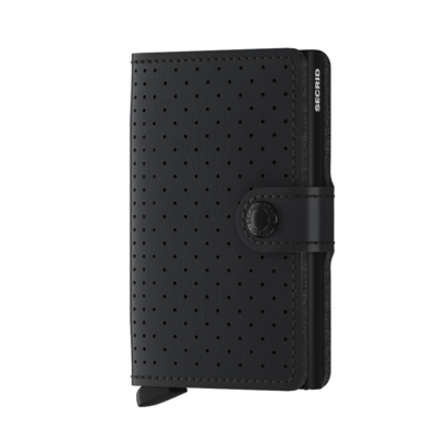 Secrid miniwallet PERFORATED black (new)