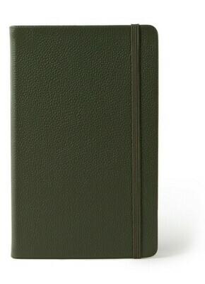 Moleskine Classic Leather collection large gelijnd groen