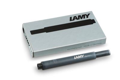 Lamy inktpatronen doos van 5 ZWART T10