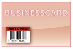 Barcode-etiket, 20 x 30 mm