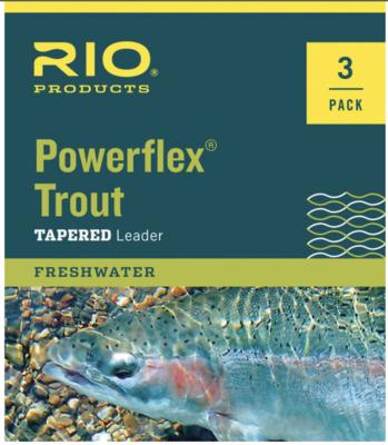 Rio Powerflex 7.5 Leader 3PK