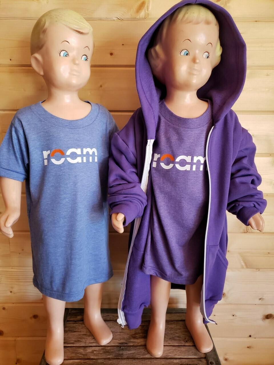 roam Youth Zip Hoodies- Unisex