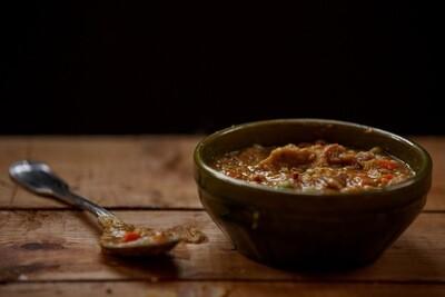Pea & Piggie Soup*
