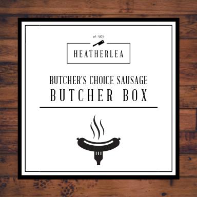 Butcher's Choice Sausage Butcher Box