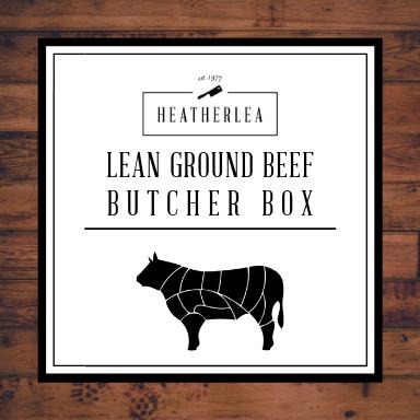 Lean Ground Beef Butcher Box