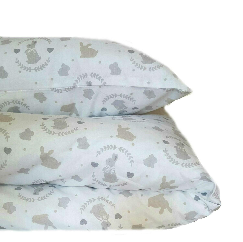 Cot duvet cover 8 piece set- Sweet Bunny design