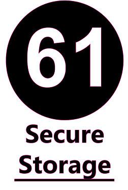 61 Secure Storage