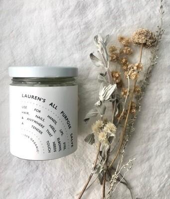 Lauren's  All Purpose Salve Classic Jar