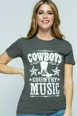 Cowboy Graphic Tshirt