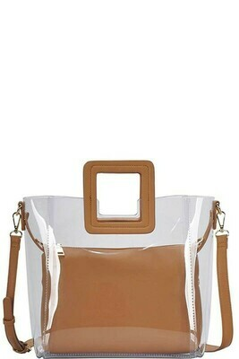Transparent Chic Tote