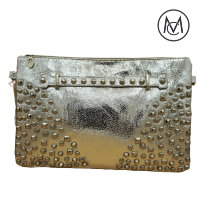 Metallic Stud Clutch