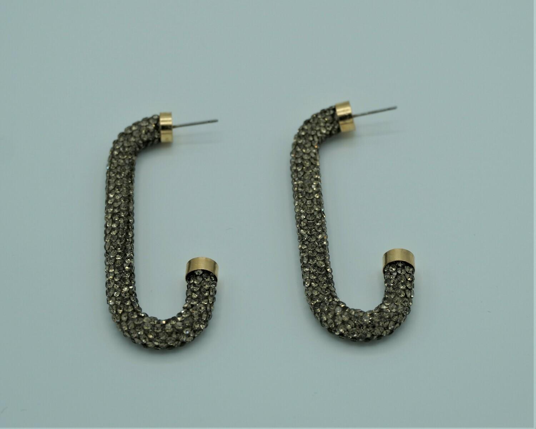 Hook Diamante Earring