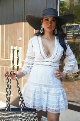 Dora Eyelet Dress