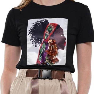 African Woman Tees
