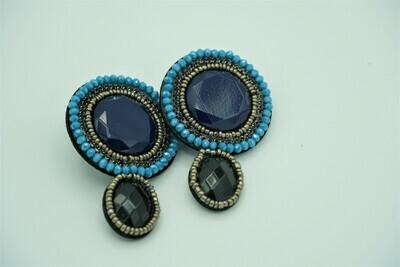 Round Ethnic Earring