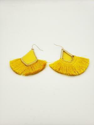 Baroque Tassle Earring