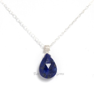 Lapis Lazuli, Sterling Silver, Necklace