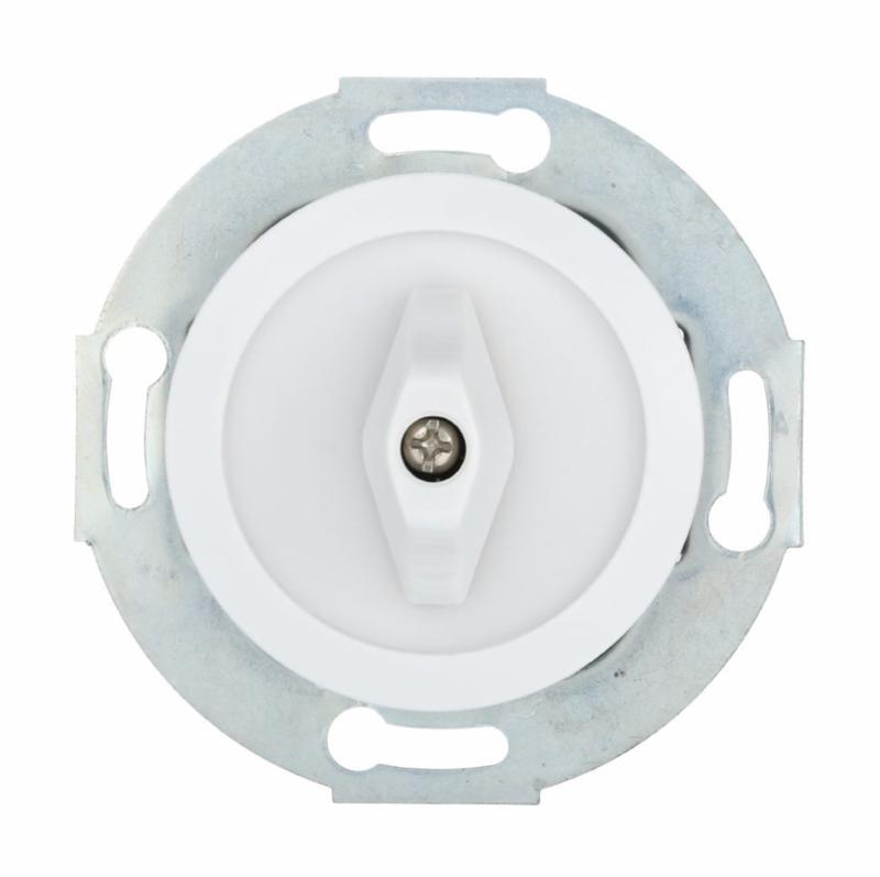 White rotary switch