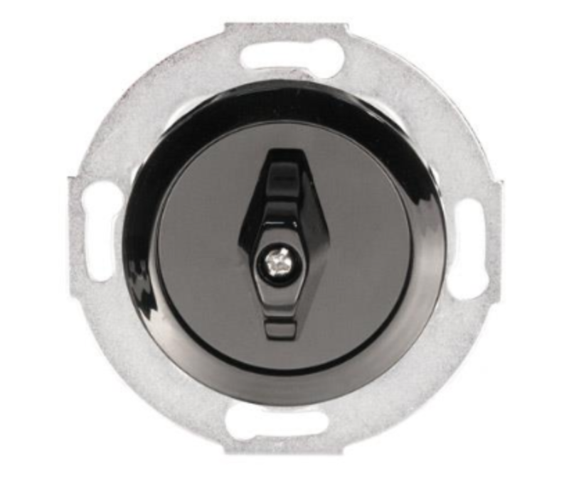 Black rotary switch