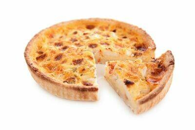 Quiche Lorraine au jambon 14 hrs (9'')